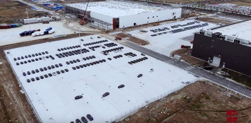 Tesla Gigafactory 3 starts producing a lot of Model 3 vehicles, but still no sales approval