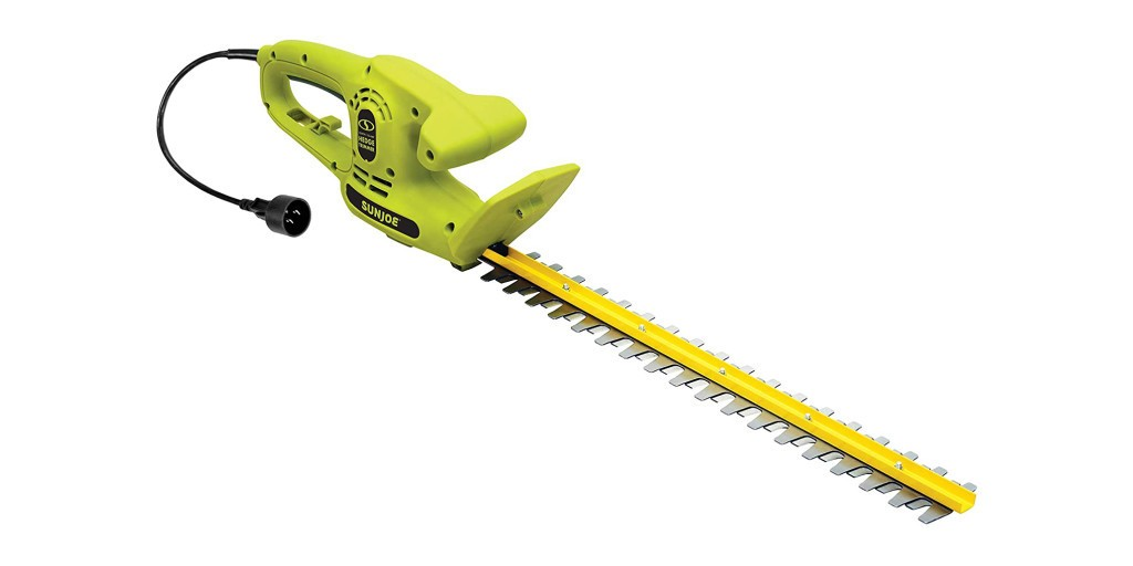 Sun Joe's Electric Hedge Trimmer is $21, more in today's Green Deals - Electrek