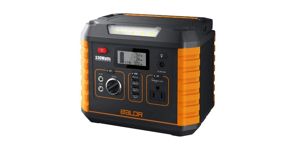 Get a 330W portable power station for solar at $222, more in today's Green Deals - Electrek