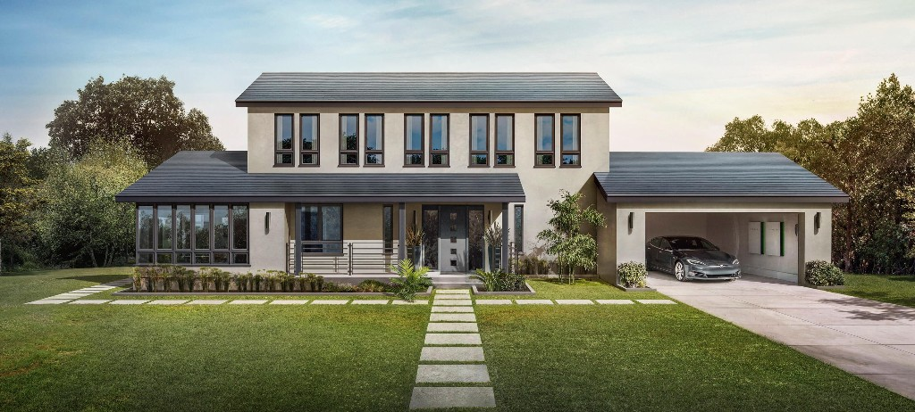 Tesla's solar roof tiles get approved for permitting and installations - Electrek