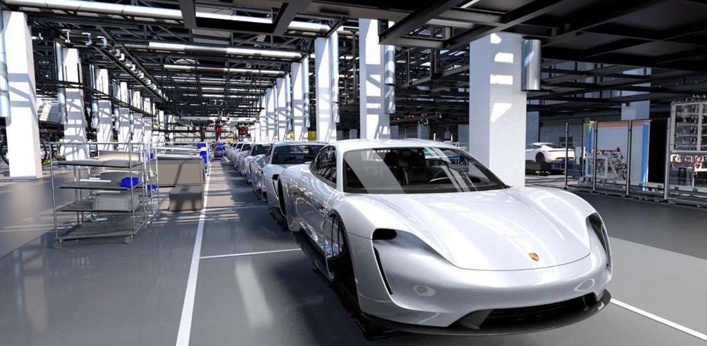 Porsche to increase planned production of Taycan all-electric vehicle as demand soars - Electrek