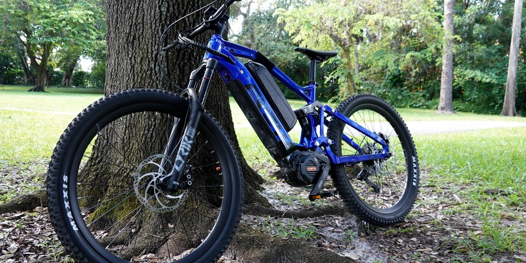 FREY EX Pro review: A 1.5 kW full-suspension electric mountain bike on steroids - Electrek