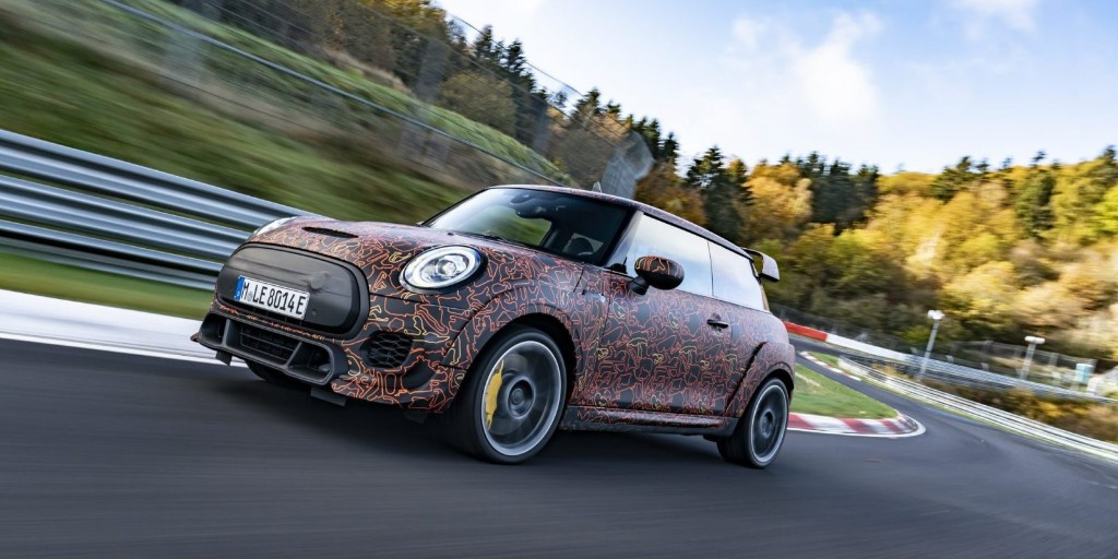 BMW confirms higher-performance John Cooper Works electric Mini - Electrek