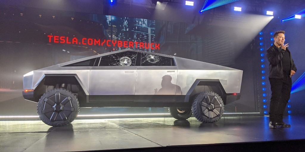 Tesla 'Plaid' Cybertruck electric pickup is Elon Musk's new favorite Tesla vehicle - Electrek