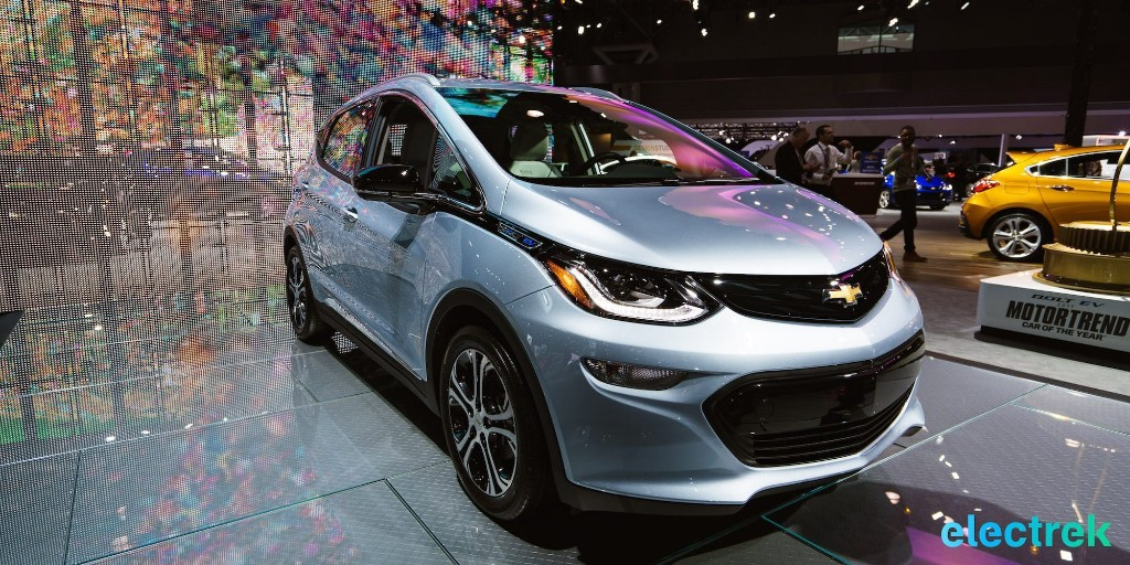 Chevy Bolt EV 2019 gets 3 new color options and a few minor updates - Electrek