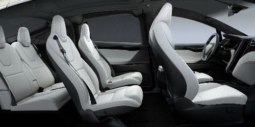 Tesla updates Model X with new front seats for more space and seat pockets