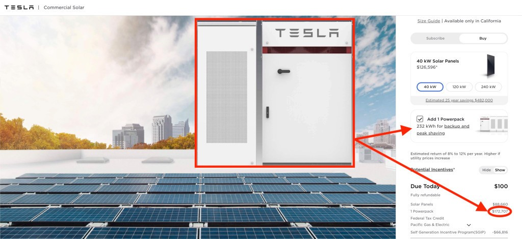 Tesla reveals insane $172,000 Powerpack price and here's why it makes sense - Electrek