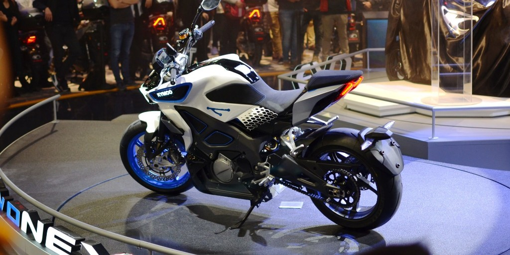 KYMCO RevoNEX 120 MPH electric motorcycle to be produced in Italy