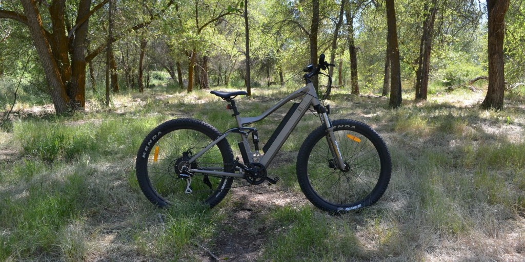 Review: $1,200 UHVO dual-suspension off-road e-bike delivers a ton of value, predictable downsides - Electrek