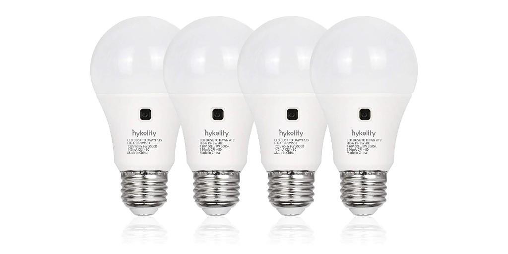 Green Deals: 4-pack Dusk to Dawn LED Light Bulbs $10, more - Electrek