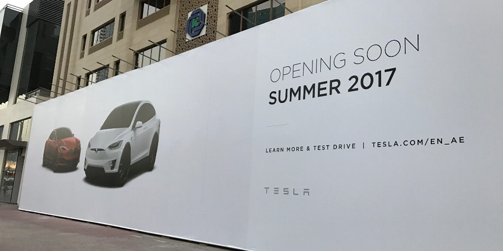 Tesla starts deploying Superchargers and Destination chargers in UAE as Elon Musk heads to Dubai for official launch - Electrek