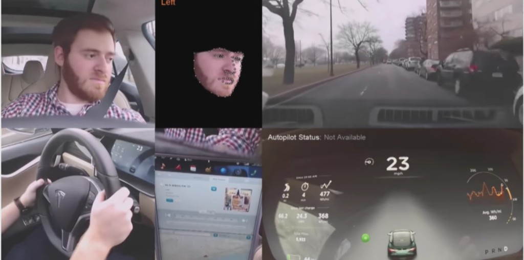 Tesla Model 3 is equipped with a driver-facing camera for Autopilot and Tesla Network - Electrek