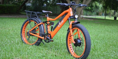 Review: 32 mph Super Monarch AWD full suspension dual battery e-bike