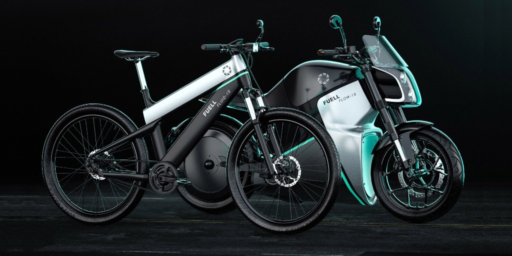 FUELL shows off impressive new urban electric motorbike prototypes