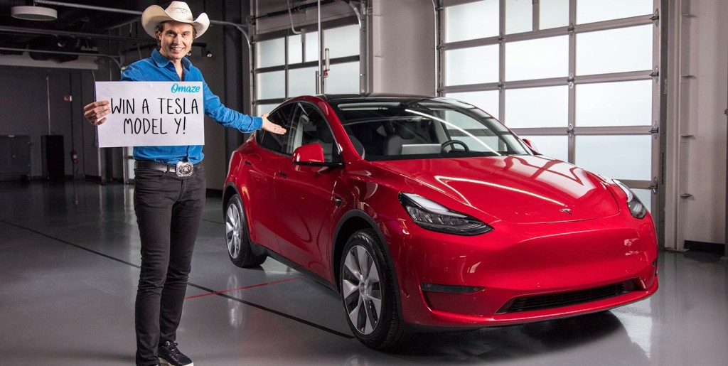 You can win a Tesla Model Y electric SUV for a good cause - Electrek