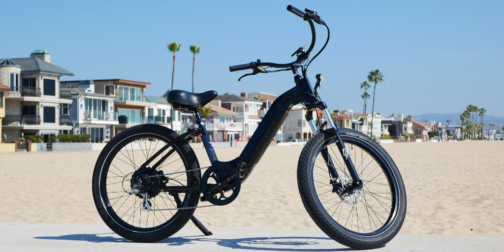 Model R electric bike is a made-in-America cruiser for the beach or city