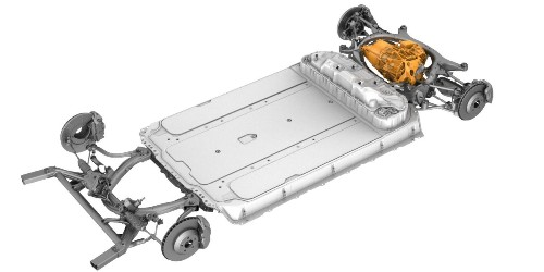 Tesla Model 3: interesting look at powertrain and chassis through first responders guide