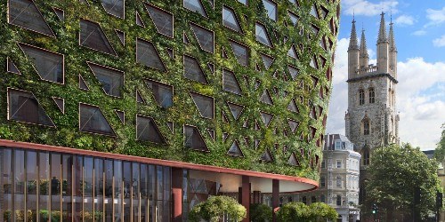 EGEB: London to get Europe's largest green wall covered in 400K plants, more