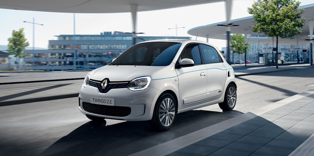 Renault returns to old urban EV formula: Twingo minicar with tiny 22-kWh battery - Electrek