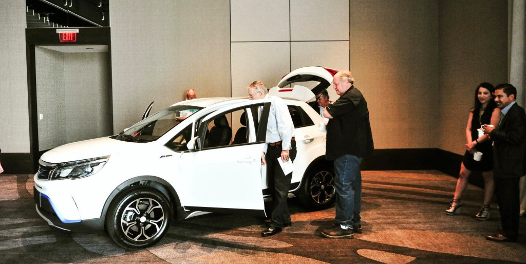China's Kandi plans to enter US market, unveils two new electric cars in Texas - Electrek