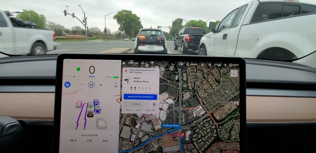 Watch Tesla Full Self-Driving Beta in a full 30-minute realistic trip - Electrek