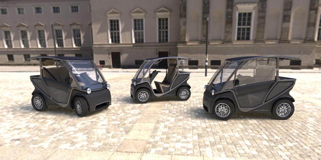 Squad's cute little 50 mph solar-powered mini-EV just got even better