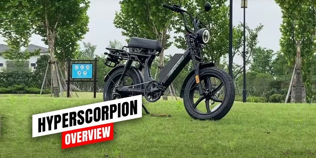 Juiced HyperScorpion: A closer look at this 30+ MPH electric moped