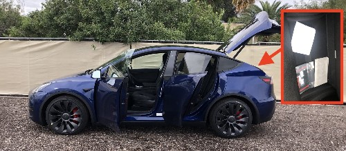 Tesla Model Y: New pictures reveal secret compartment and great interior look - Electrek
