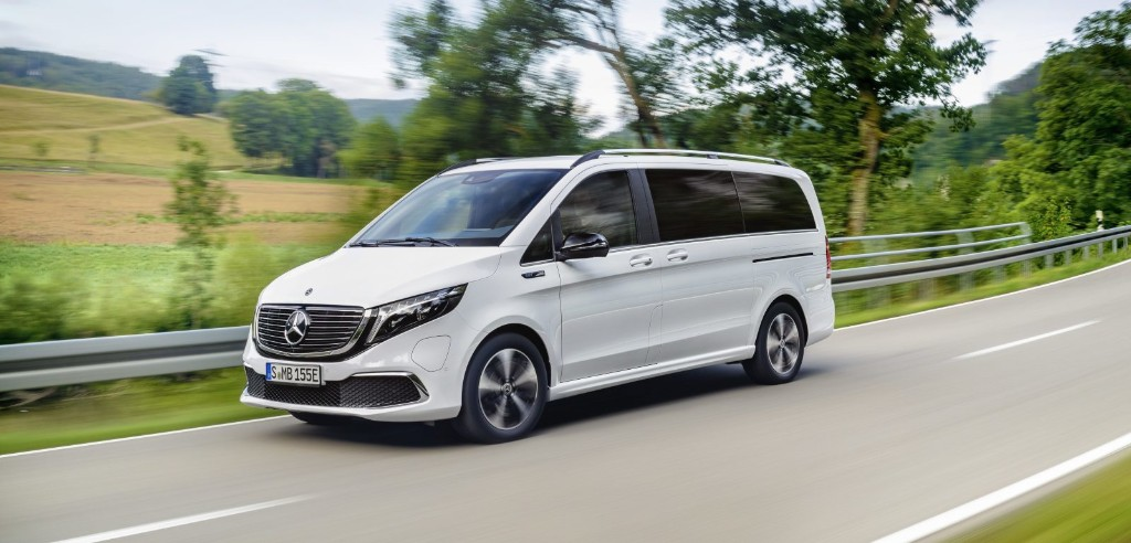 Mercedes-Benz launches its electric EQV minivan for ~$64,000 - Electrek