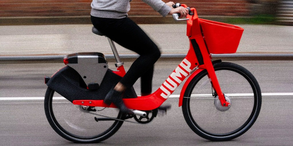 Jump Bikes by Uber are getting more riders than Uber's cars
