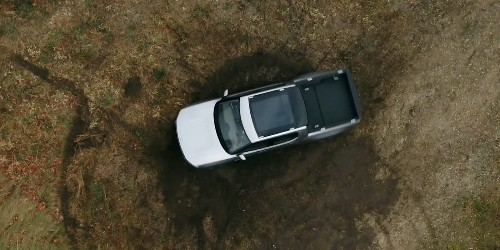 Watch Rivian spin in place with 'tank turn' – best turning radius ever?