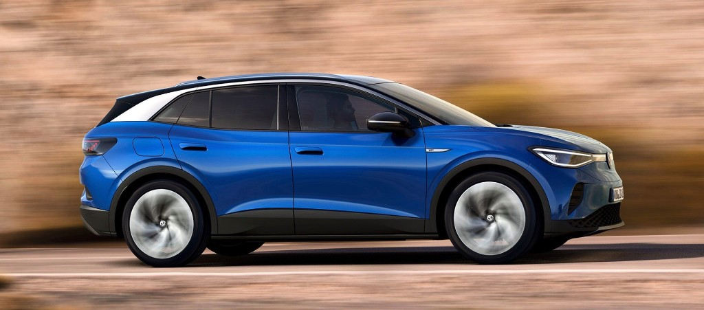 VW ID.4 electric SUV gets official EPA range: 250 miles - Electrek