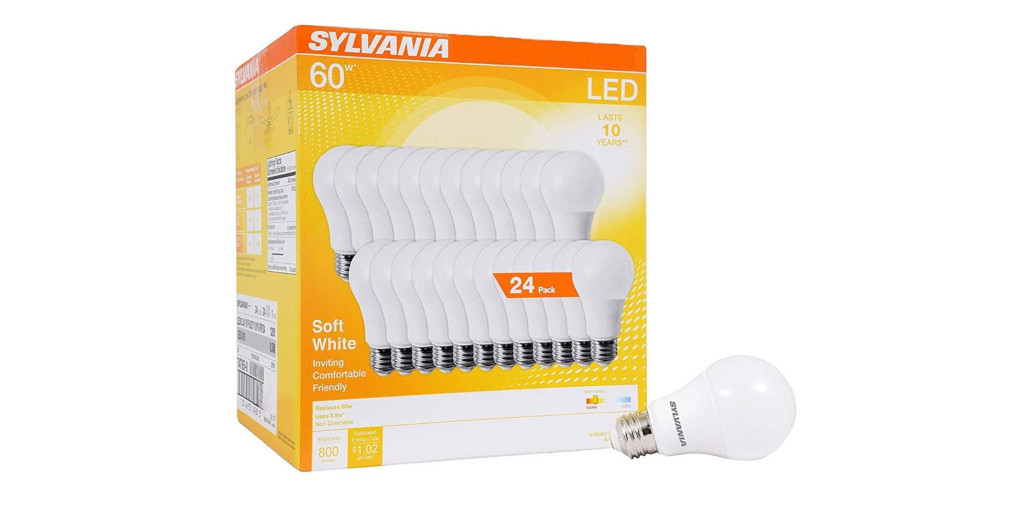 Green Deals: Sylvania 24-pack LED Light Bulbs $22, more - Electrek