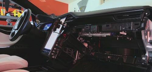 Watch Tesla retrofit Model X with new Full Self-Driving Computer