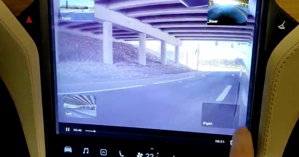 First look at Tesla's new Dashcam/Sentry mode viewer - Electrek