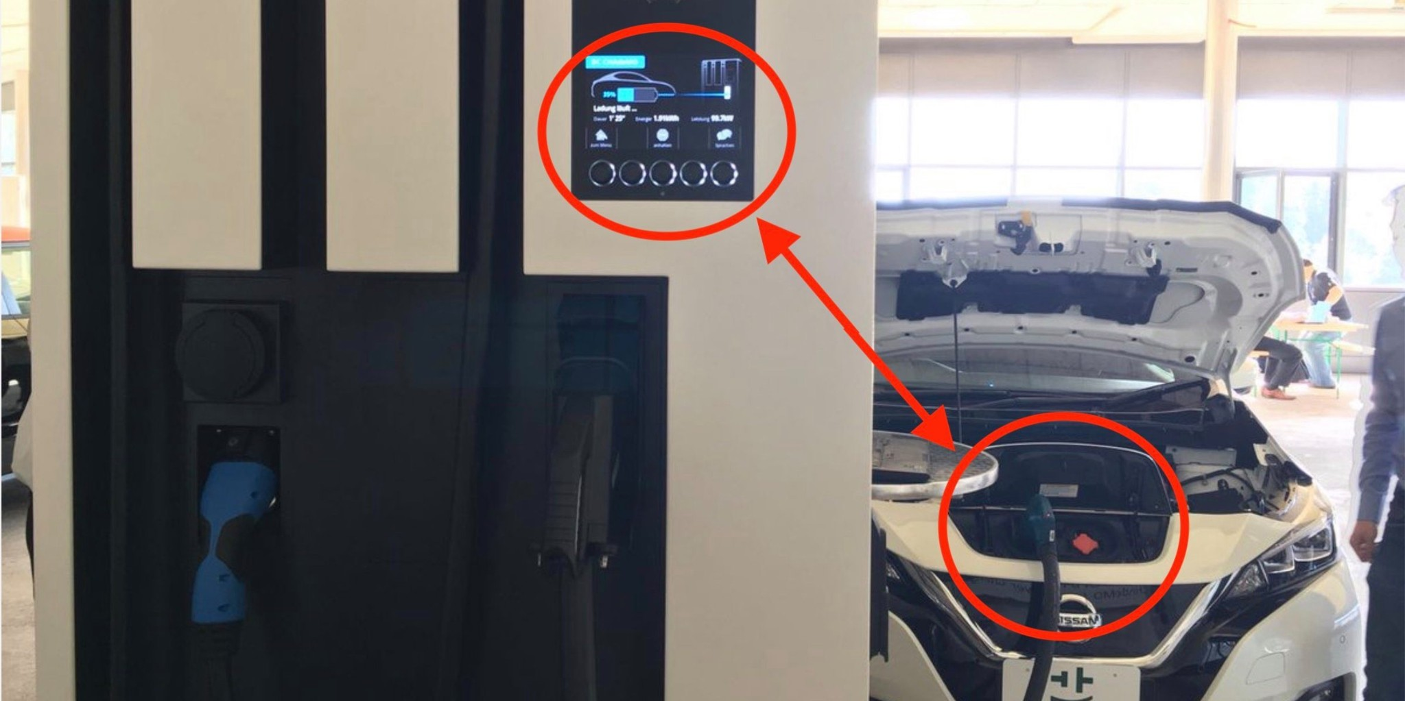 Nissan Leaf prototype with new 60 kWh battery pack leaked fast-charging at 102 kW - Electrek
