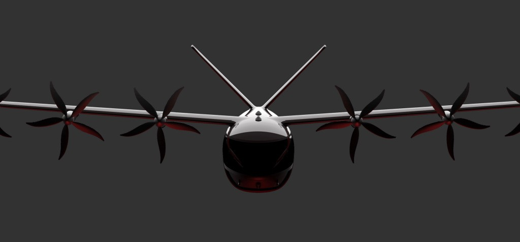 A new eVTOL player enters the race with 60-mile range electric air taxi - Electrek