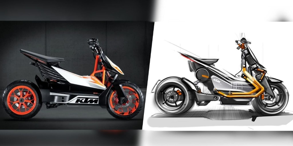 KTM is working on a new electric motorbike that could bridge the scooter/motorcycle gap - Electrek
