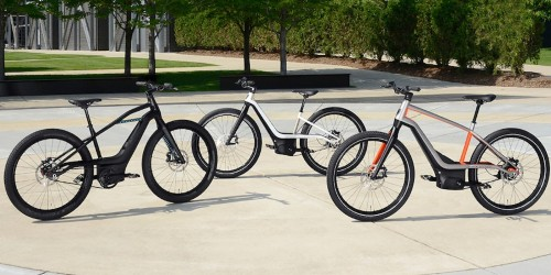 Harley-Davidson shows off new electric bike design — as in electric bicycle