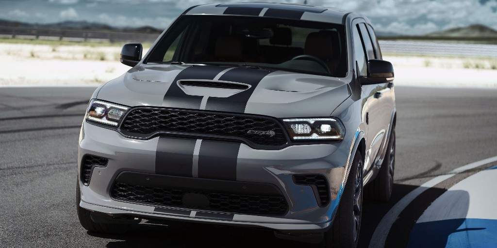 Dodge debuts 710-horsepower V8 SUV but says Hellcat engines are doomed - Electrek