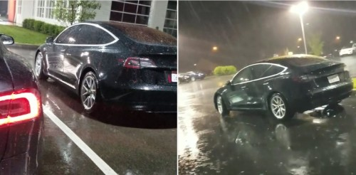 Tesla Model 3: new release candidate made it across the country – spotted in Cincinnati