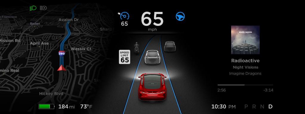 Tesla increases Autopilot 2.0 speed limits with latest update - Electrek