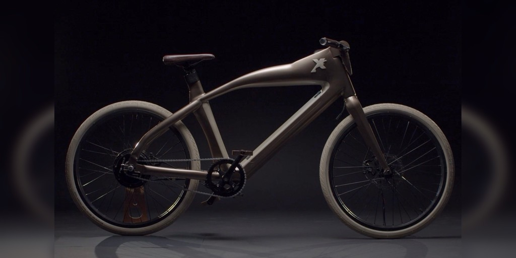 X One electric bicycle is so futuristic that it's years ahead of its time