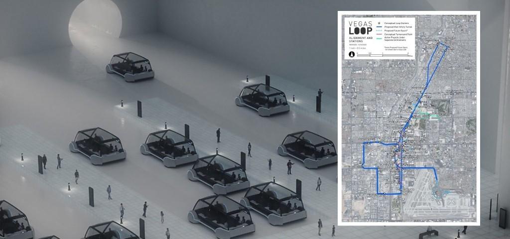 Elon Musk's Boring Company expands Las Vegas' Tesla vehicles Loop system - Electrek