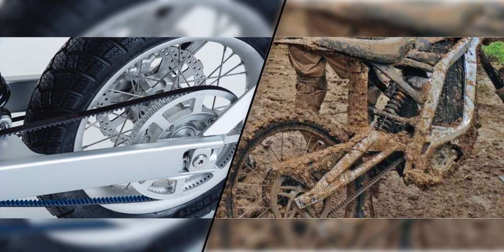 New Gates belt drive innovation for off-roading electric motorcycles