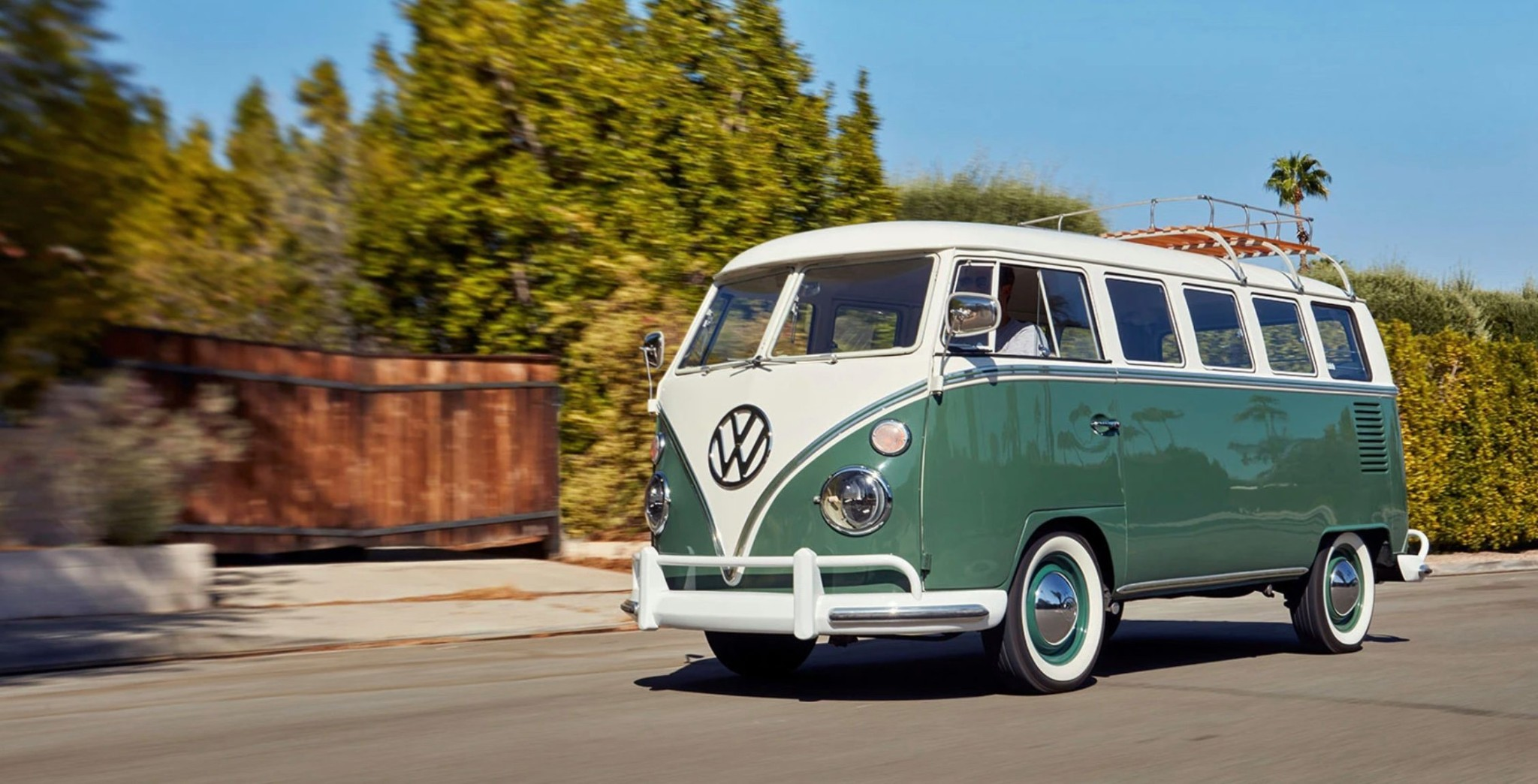 Tesla-powered classic 1966 VW Microbus delivers electric van life and you can win it - Electrek