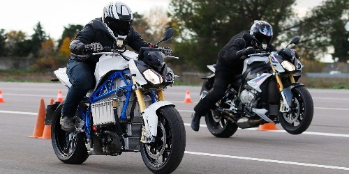 BMW unveils electric motorcycle prototype that crushes its gas-bike rival