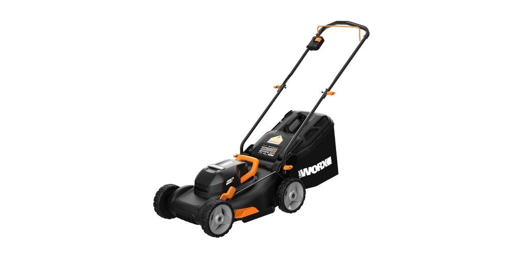 Green Deals: WORX 17-inch Electric Cordless Lawn Mower $248, more - Electrek