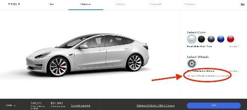 Tesla now offers Model 3 Performance for less than $50,000 by unbundling features