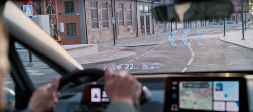 VW releases video of insane heads-up display in ID.3 electric car - Electrek